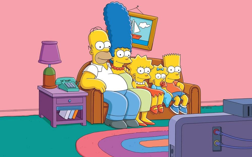 Кадр из мультфильма «Симпсоны / The Simpsons»