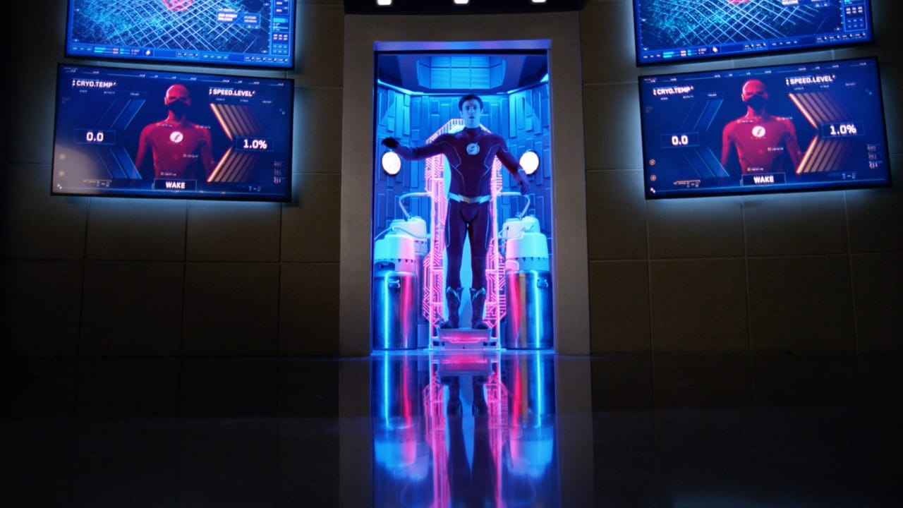 Кадр с 7-го сезона сериала «Флэш / The Flash»