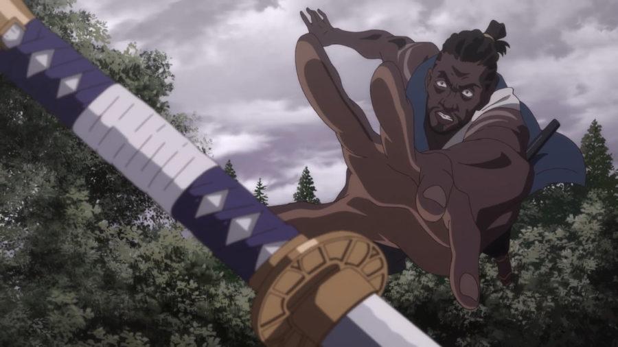 Кадр из аниме «Ясукэ / Yasuke» (2021)