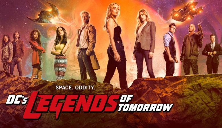 Постер 6 сезона сериала «Легенды завтрашнего дня / Legends of Tomorrow» (2021)